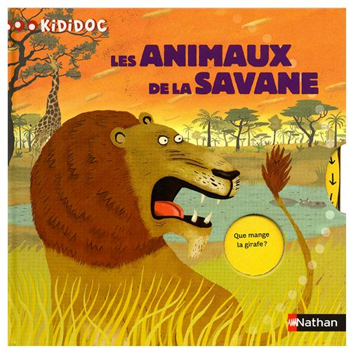 Kididoc : Les animaux de la savane